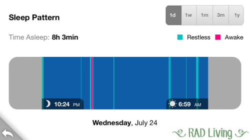 Fitbit Flex Sleep Tracker