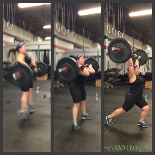 98# Clean & Jerk...that's a 13# increase!
