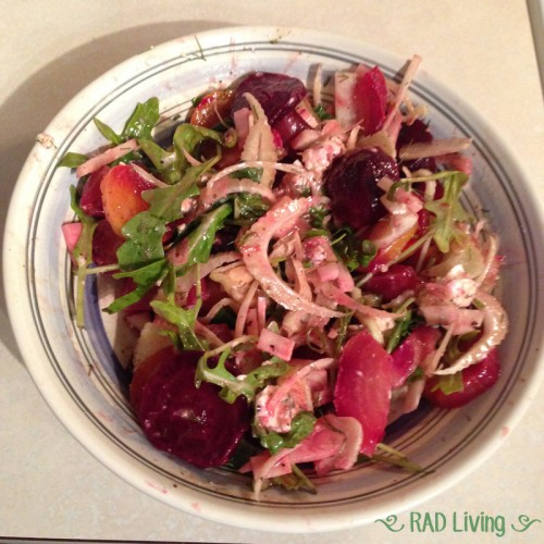 Robert-Treat-2014-CSA-Week7-Beet-Salad