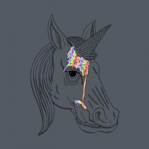Unicorn-Cone-Rainbow