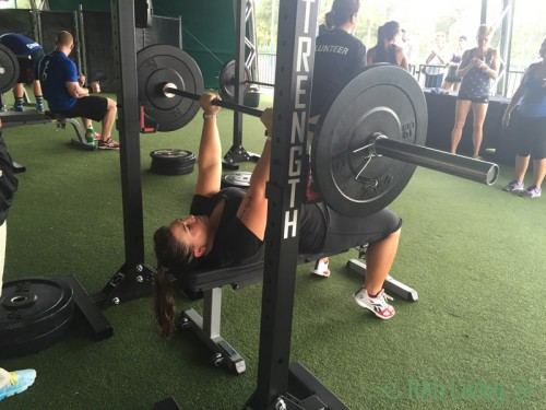 Disney-Fit-Challenge-2-Kat-Bench-Press